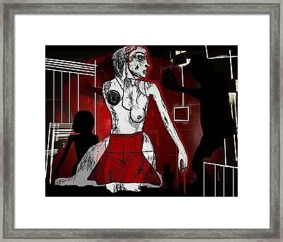 Showgirl Framed Print by Franziska Kolbe