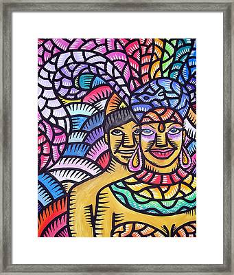 Showgurl In Me Framed Print