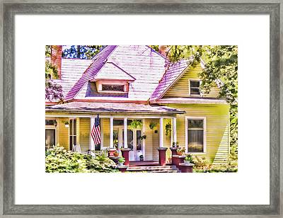 Showing The Colors Framed Print