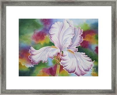 Showstopper Framed Print by Deborah Ronglien