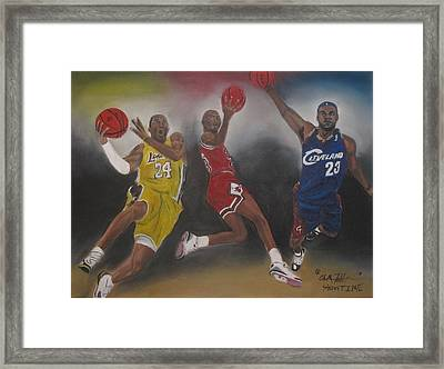 Showtime Framed Print by ChrisMoses Tolliver