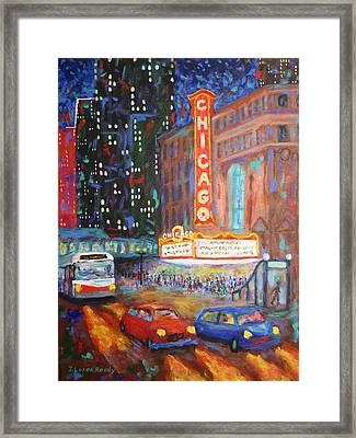 Showtime Framed Print by J Loren Reedy