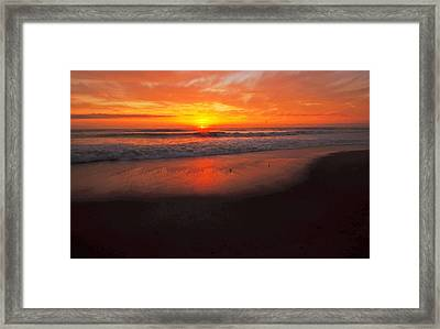 Framed Print featuring the photograph Showtime  by John Harding