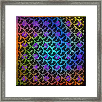 Shreaded Patterns And Textures Framed Print by Glenn McCarthy Art and Photography