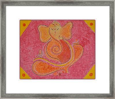 Shree Ganesh Framed Print