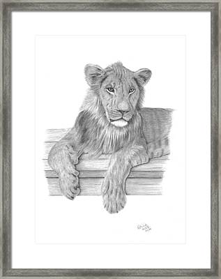 Strek The Future King Framed Print