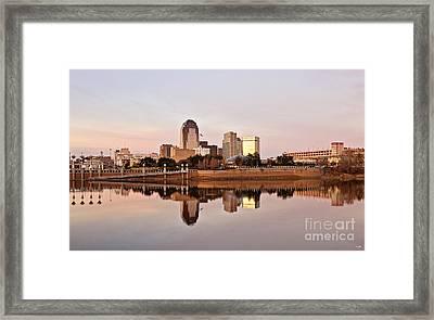 Shreveport Sunrise Framed Print by Scott Pellegrin