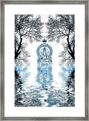 Shri Ganapati Deva Framed Print by Tim Gainey