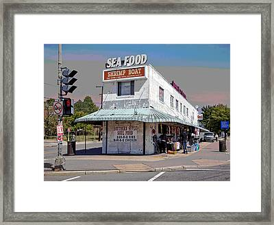 Shrimp Boat Benning Road Framed Print