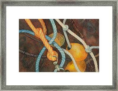 Shrimp Boat - Out Of Service  II Framed Print