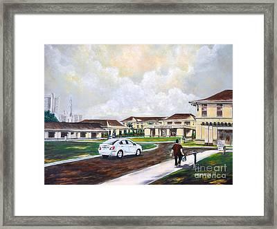 Shriners Hospital Framed Print