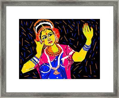 Shringara Rasa Framed Print by Anand Swaroop Manchiraju