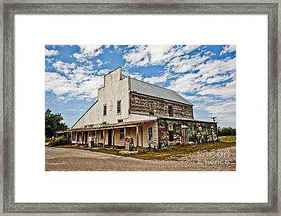 Shriver's General Store Framed Print by Pattie Calfy