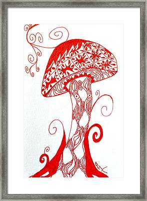 Shroomfest 2013 Framed Print by Beverley Harper Tinsley