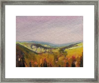 Shropshire Hills 4 Framed Print by Paul Mitchell