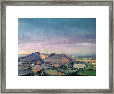 Shropshire Landscape 1 Framed Print by Paul Mitchell
