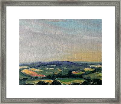 Shropshire Landscape 2 Framed Print by Paul Mitchell
