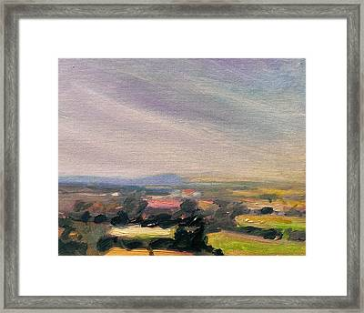 Shropshire Landscape 3 Framed Print by Paul Mitchell