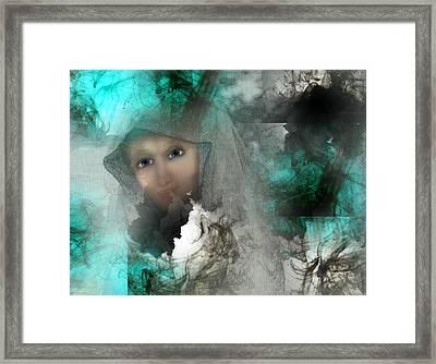 Shroud Of Truth Framed Print by Patricia Motley