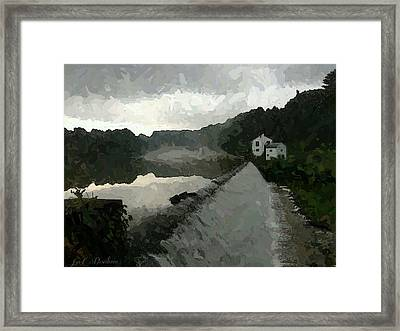 Shrouded Fluid Power Framed Print