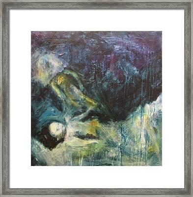 Shrouded In Brokenness Framed Print