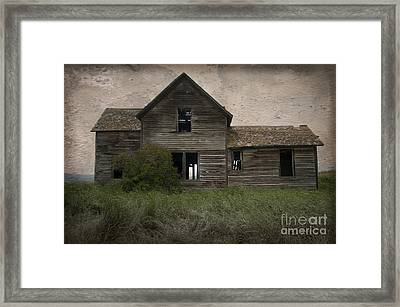 Shrouded In Mystery Framed Print by Sandra Bronstein