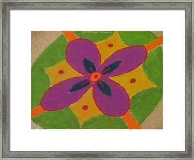 Shubh Vijayadashmi Framed Print