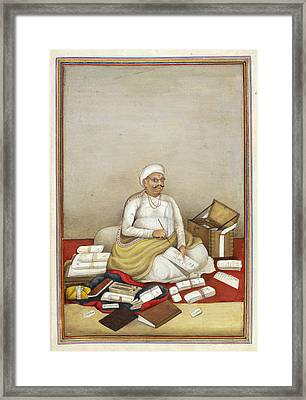 Shudra Accountant Framed Print by British Library