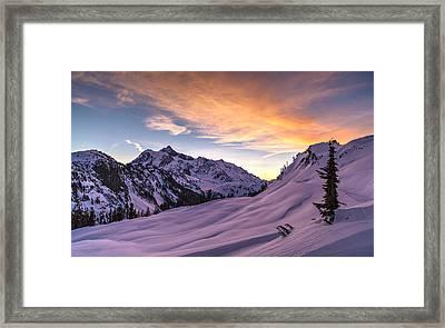 Shuksan Morning Skies Framed Print