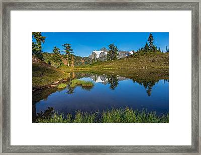 Shuksan Reflection Framed Print
