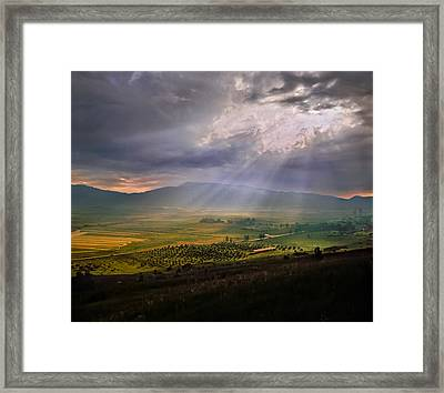 Shumadia After The Rain. Serbia Framed Print by Juan Carlos Ferro Duque