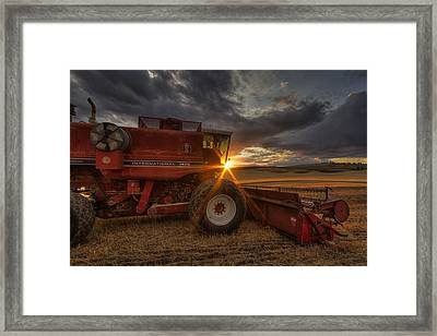 Shut Down Framed Print