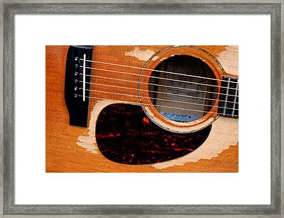 Shut Up And Play Framed Print by Steve Parr