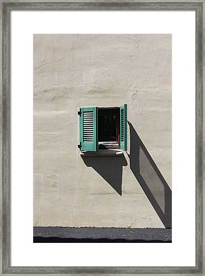 Shutter Dance Framed Print by Kandy Hurley