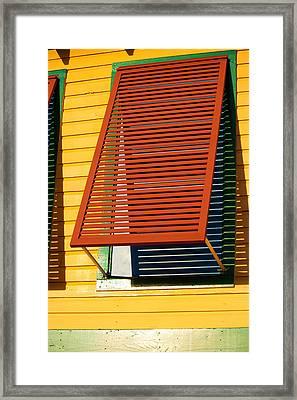 Shutter Framed Print