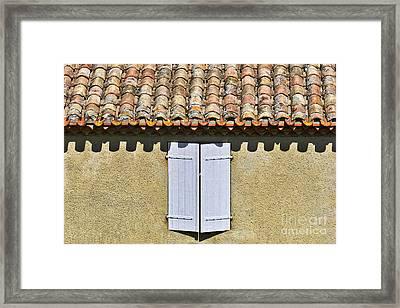 Shuttered Framed Print by Nikolyn McDonald