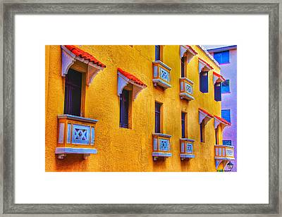 Shutters Framed Print by Kathi Isserman