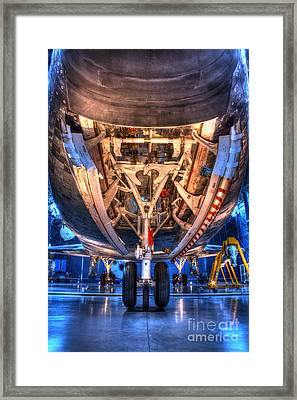 Shuttle Discovery Nose Gear And Bay Framed Print
