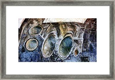 Shuttle Thrusters Framed Print by Donna Proctor