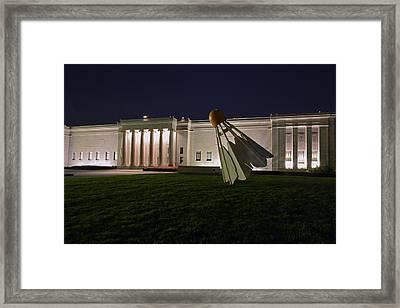 Shuttlecock Framed Print