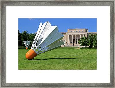 Shuttlecocks Framed Print
