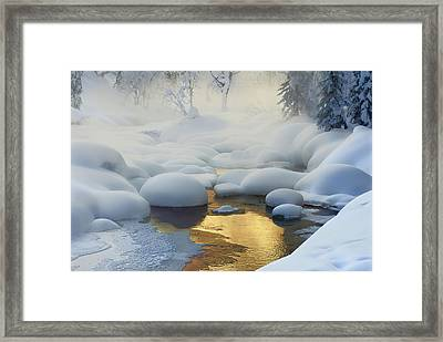 Siberia. -37a?c (-35a?f) Framed Print