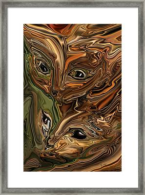 Sibling  Framed Print