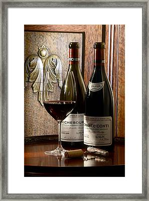 Sibling Rivalry Framed Print by Jon Neidert