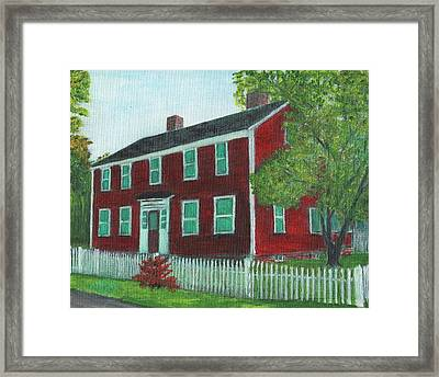 Sibson House Framed Print