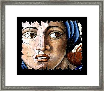 Sibyl Of Delphi Framed Print by Steve Bogdanoff