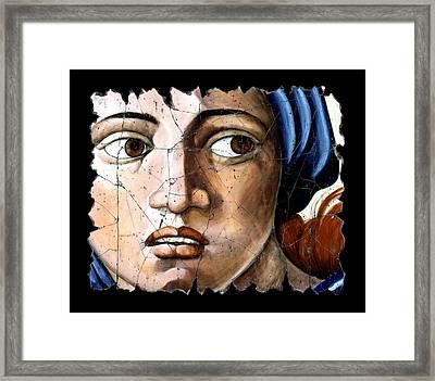 Sibyl Of Delphi Framed Print