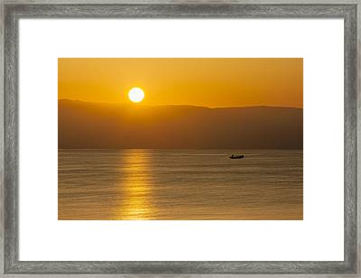Sicilian Dawn Framed Print