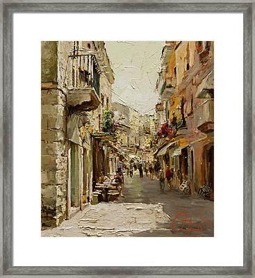 Sicilian Noon Framed Print by Oleg Trofimoff