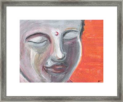 Siddharta Framed Print by Michelle Foster